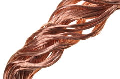 Copper wire industry development Royalty Free Stock Image