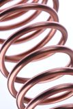 Copper wire industry Royalty Free Stock Images
