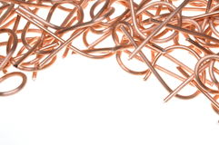 Copper wire industry Stock Images