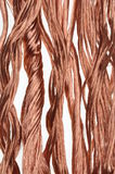 Copper wire industry Royalty Free Stock Photos