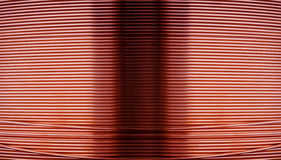 Copper wire metal blackground Royalty Free Stock Photos