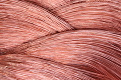 Copper wire Royalty Free Stock Images