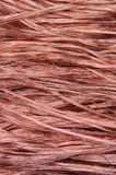 Copper wires background Stock Photography