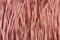 Copper wires background Royalty Free Stock Image