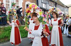 Copperfield Clog morris dancers Royalty Free Stock Photography