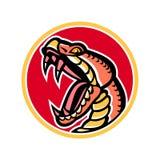 Copperhead Snake Mascot Stock Image