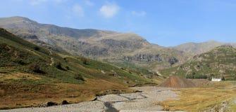 Coppermines dal Coniston Cumbria Royaltyfria Bilder