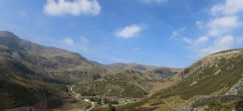 Coppermines dal Coniston Cumbria Royaltyfri Foto