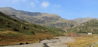 Coppermines Valley Coniston Cumbria Royalty Free Stock Images