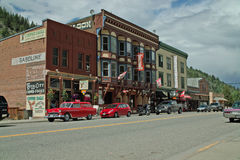CopperStreet, Greenwood BC, Canada. Stock Images