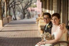 Coppia dello stesso sesso commessa fotografia stock libera da diritti