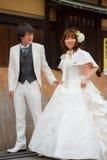 Coppia di sposi Immagine Stock