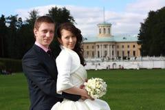 Coppia sposata Fotografia Stock Libera da Diritti