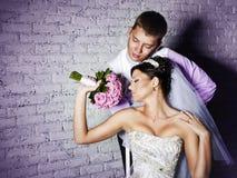 Coppia sposata Immagini Stock Libere da Diritti