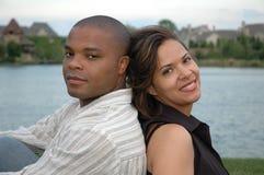 Coppia sposata felice 7 Fotografia Stock Libera da Diritti