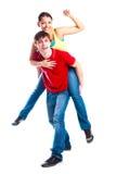 Coppie adolescenti Fotografia Stock Libera da Diritti