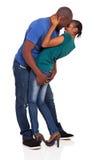 Coppie africane che flirtano Immagine Stock Libera da Diritti