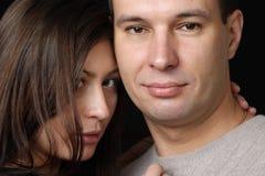 Coppie amorose. fotografia stock