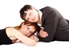 Coppie amorose. immagini stock libere da diritti
