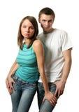 Coppie amorose Fotografia Stock Libera da Diritti