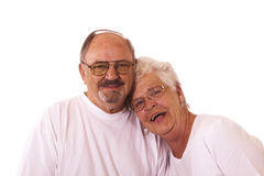 Coppie anziane Immagine Stock