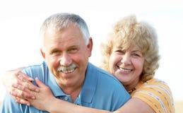 Coppie anziane degli anziani fotografia stock