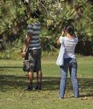 Coppie asiatiche Fotografia Stock Libera da Diritti