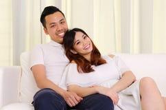 Coppie asiatiche fotografia stock