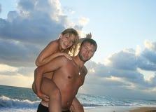 coppie attive Fotografia Stock Libera da Diritti