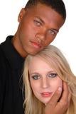 Coppie attraenti nell'amore Fotografia Stock