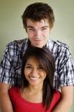 coppie che godono insieme del tempo felice Fotografia Stock Libera da Diritti