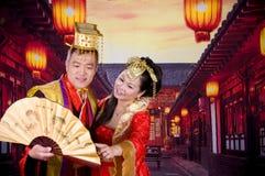 Coppie cinesi Fotografie Stock