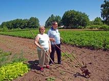 Coppie degli agricoltori Fotografia Stock Libera da Diritti