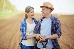 Coppie degli agricoltori Fotografia Stock