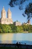 Coppie del Central Park Fotografie Stock Libere da Diritti