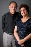 Coppie dell'indiano orientale degli anziani fotografia stock libera da diritti