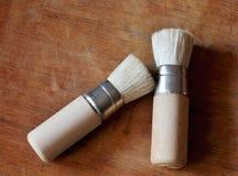 Coppie delle spazzole Immagine Stock Libera da Diritti