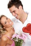 Coppie di amore Fotografia Stock