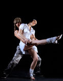 Coppie di ballo Immagine Stock Libera da Diritti