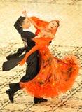 Coppie di ballo Immagine Stock