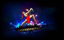 Coppie di Dancing Immagini Stock