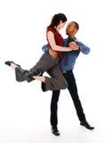 Coppie di Dancing Immagini Stock Libere da Diritti
