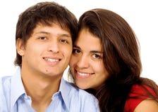Coppie di giovani amanti Fotografia Stock