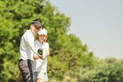 Coppie di golf fotografia stock libera da diritti