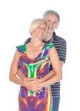 Coppie di mezza età affettuose Fotografia Stock