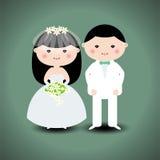 Coppie di nozze Immagini Stock Libere da Diritti