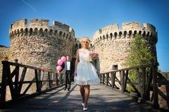 Coppie di nozze Fotografia Stock