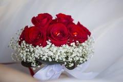 Coppie di nozze, fiore Fotografie Stock Libere da Diritti