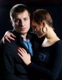 Coppie di passione nell'amore Fotografie Stock