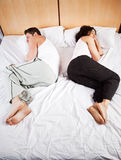 Coppie di sonno Fotografia Stock Libera da Diritti